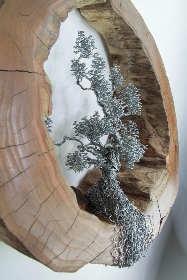 ajándék drótfa réz acél alumínium horgany 91.2