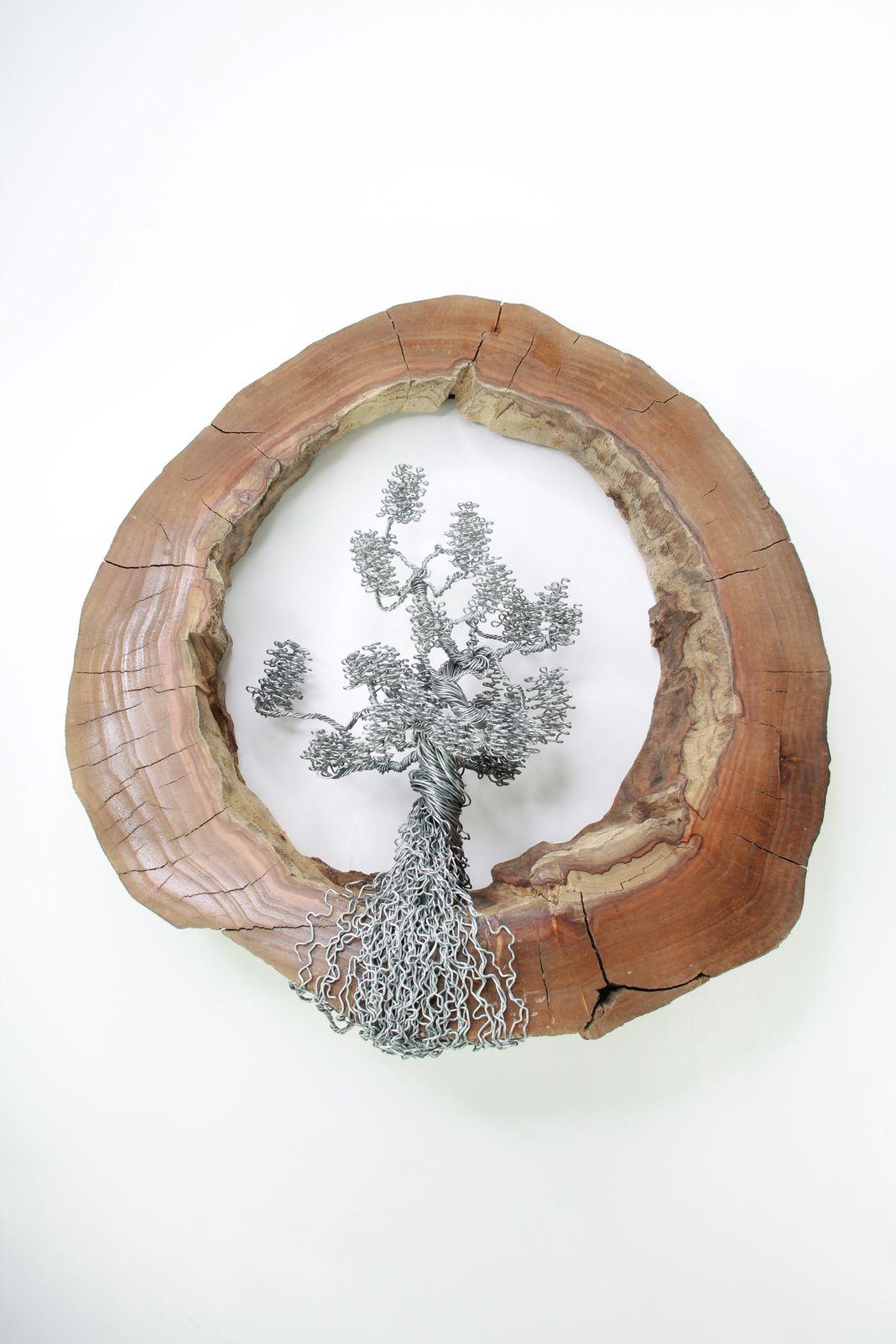 ajándék drótfa réz acél alumínium horgany 91.4