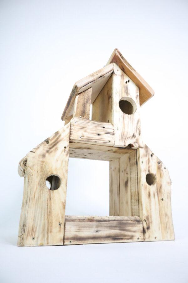 ajándék madáretető madárlak kisház 12