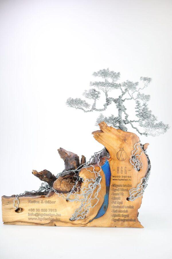 ajándék műgyanta drótfa réz acél alumínium horgany 96.1