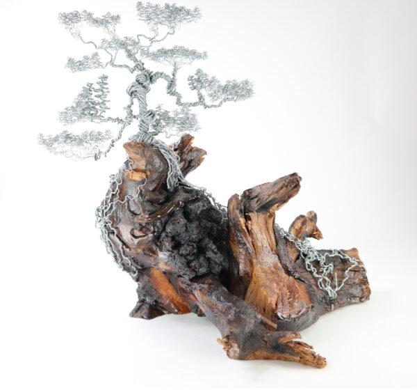 ajándék műgyanta drótfa réz acél alumínium horgany 96.7