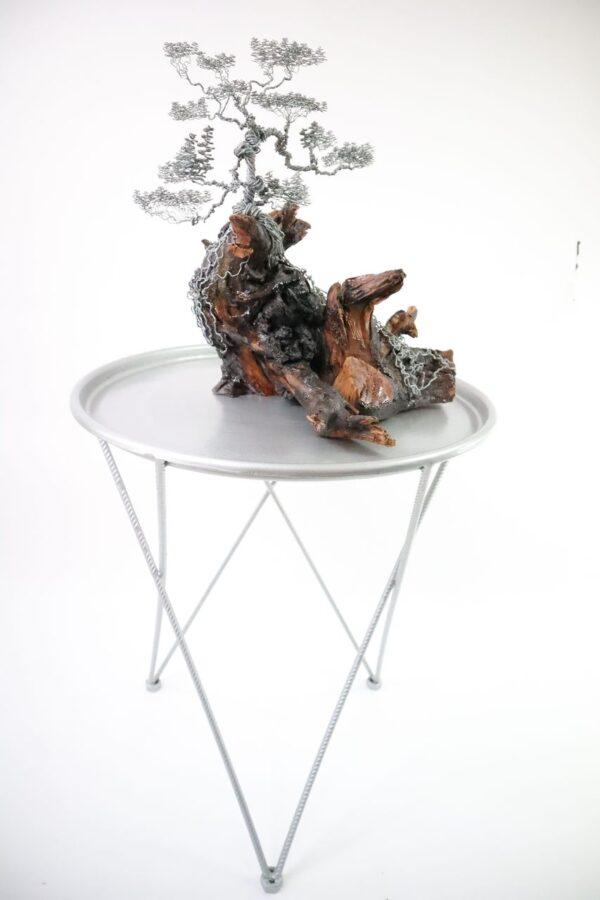 ajándék műgyanta drótfa réz acél alumínium horgany 96.9