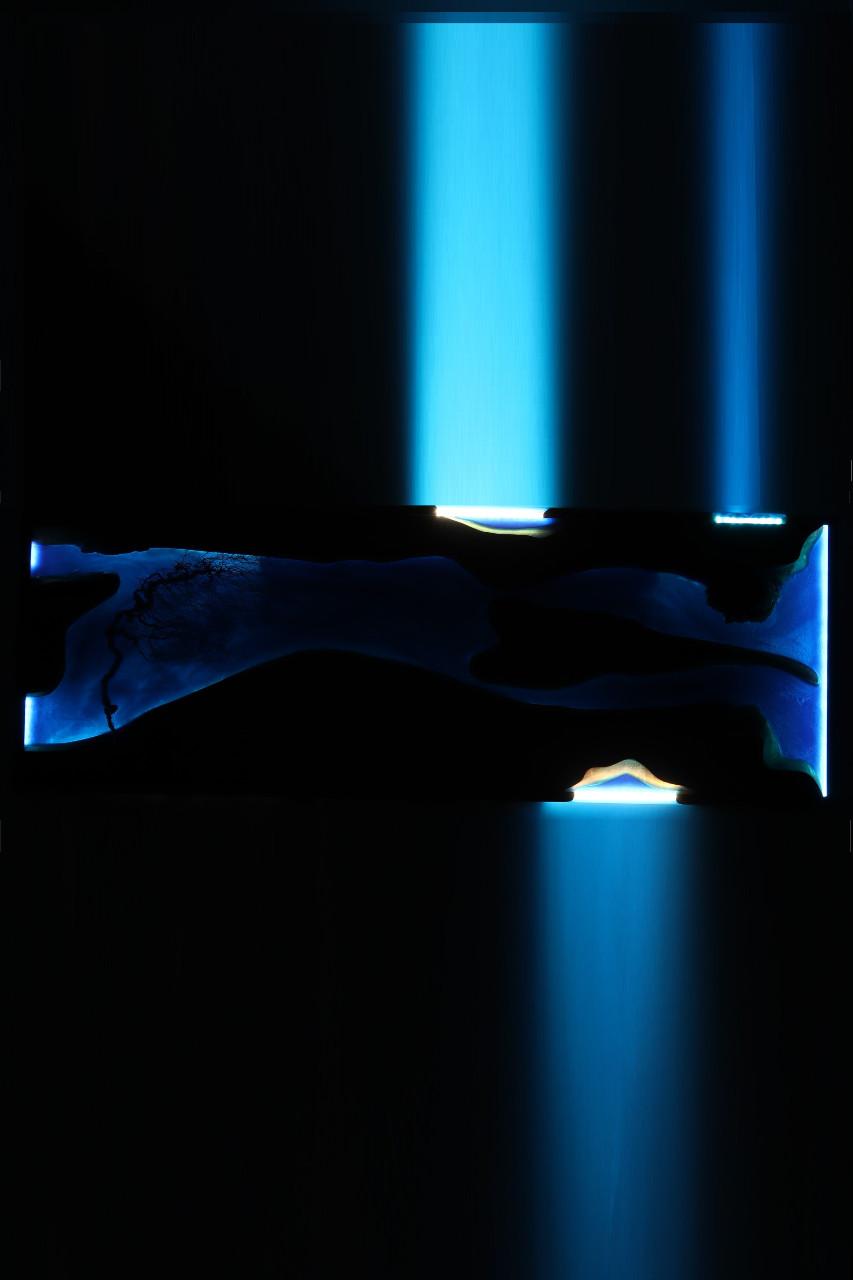 epoxy gyanta led fali lámpa-bonsai drótfa 121.9