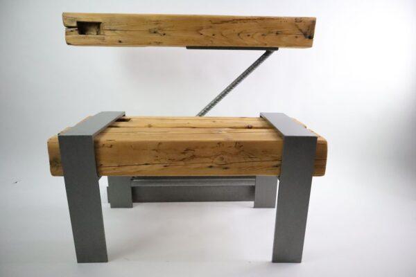 gerenda asztal ajándék drótfa réz acél alumínium horgany-98.2