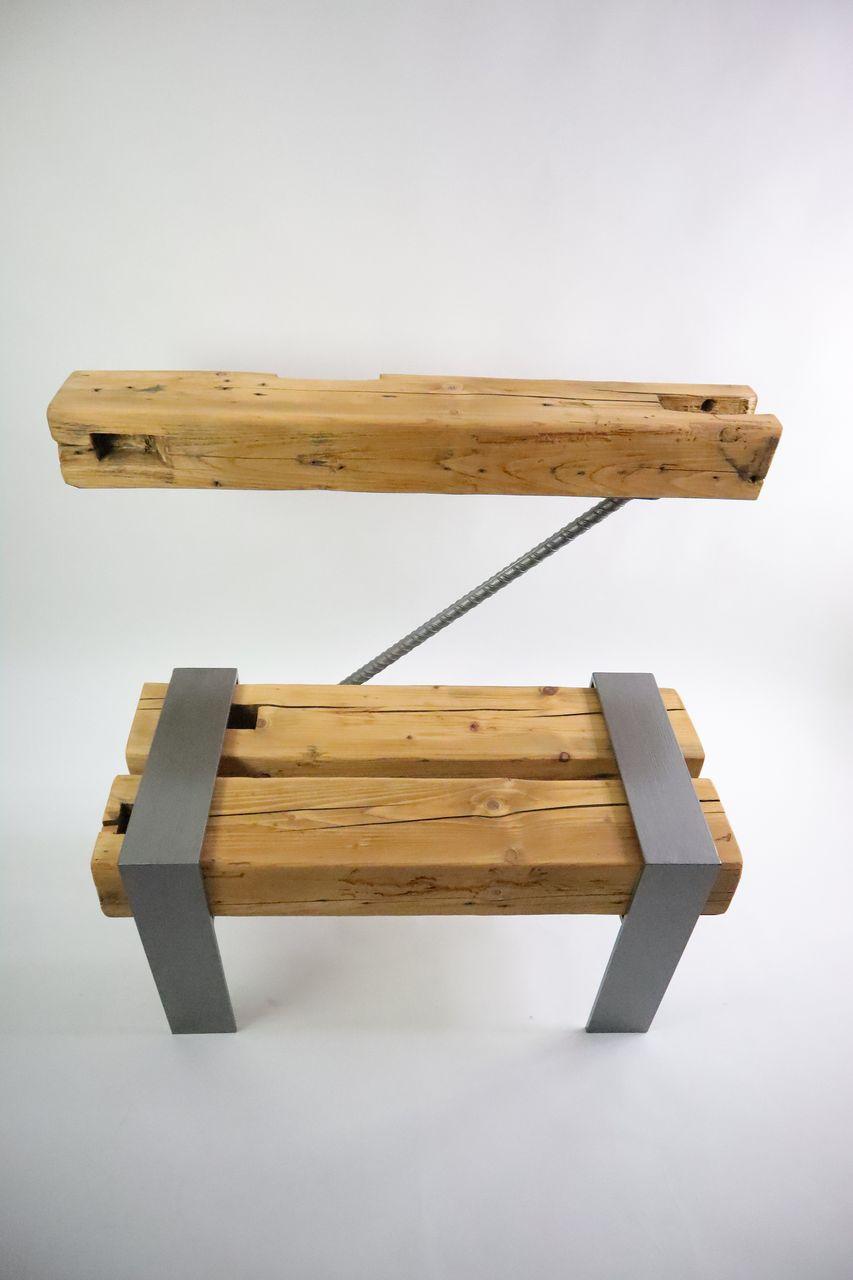 gerenda asztal ajándék drótfa réz acél alumínium horgany-98.3