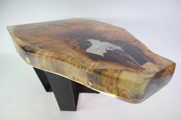 műgyanta asztal ajándék drótfa led lámpa réz acél alumínium horgany 107.3