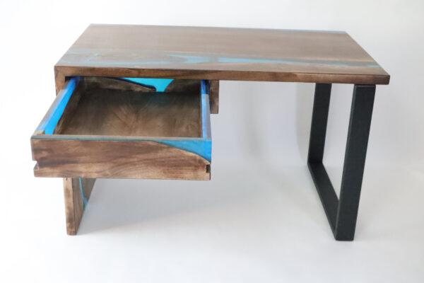 műgyanta asztal ajándék drótfa réz acél alumínium horgany-104.4