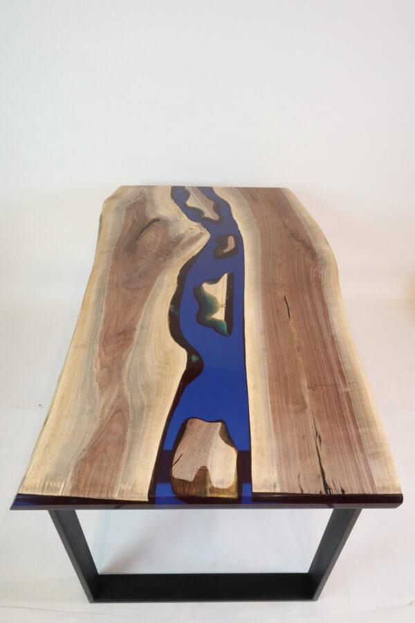 műgyanta asztal ajándék drótfa réz acél alumínium horgany 109.12