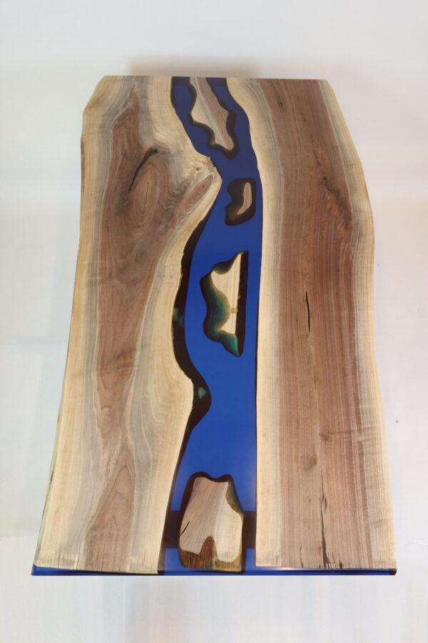 műgyanta asztal ajándék drótfa réz acél alumínium horgany 109.13