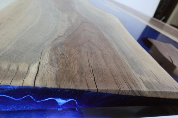 műgyanta asztal ajándék drótfa réz acél alumínium horgany 109.16