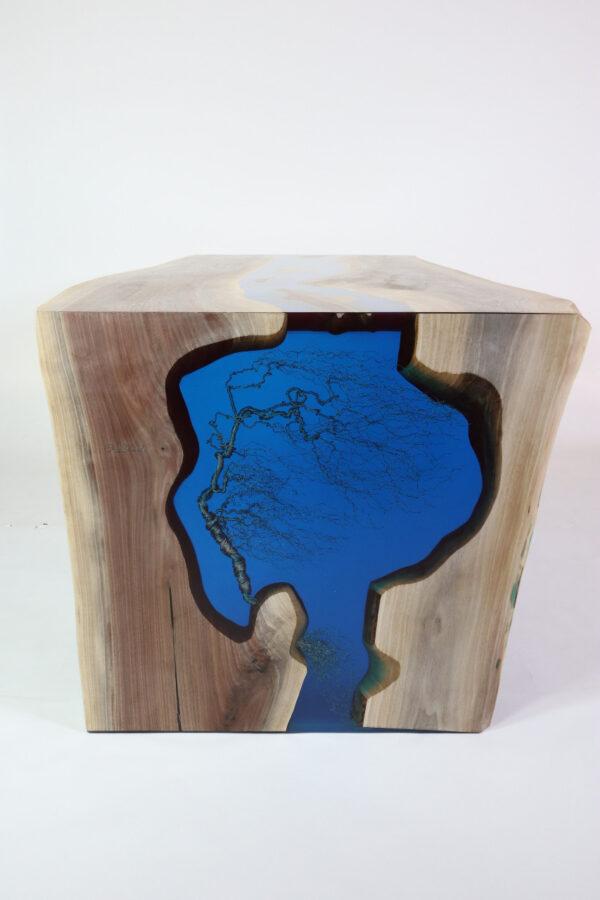 műgyanta asztal ajándék drótfa réz acél alumínium horgany 109.4