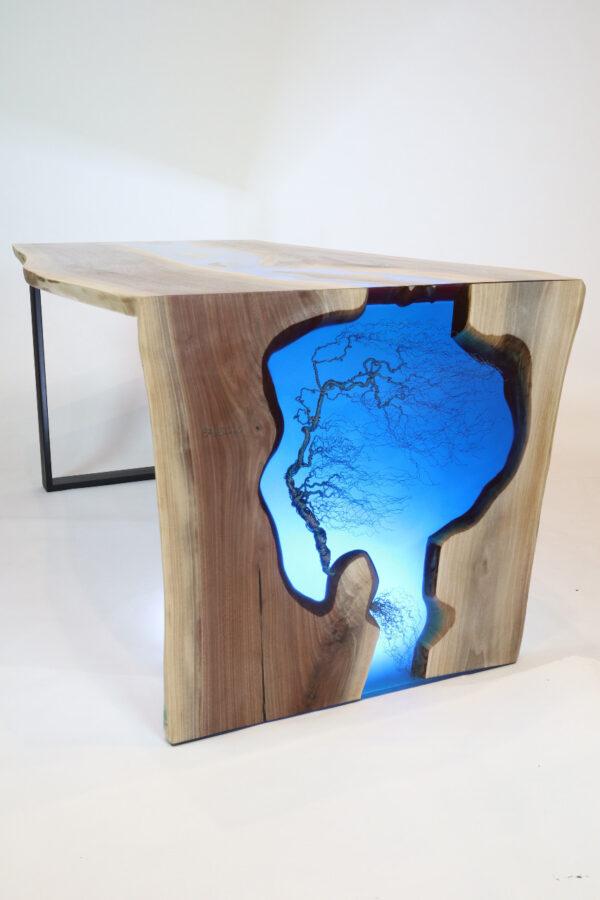 műgyanta asztal ajándék drótfa réz acél alumínium horgany 109.9