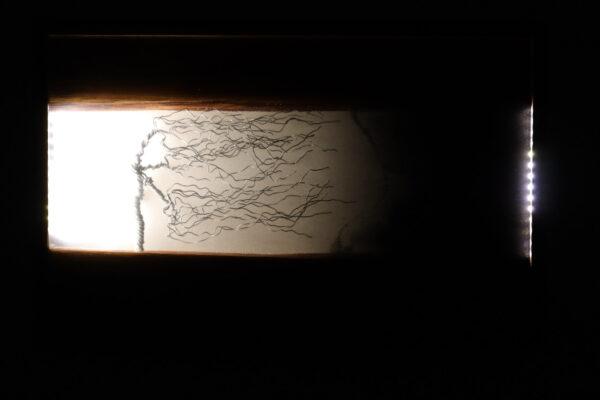 műgyanta lámpa ajándék drótfa réz acél alumínium horgany 95.8