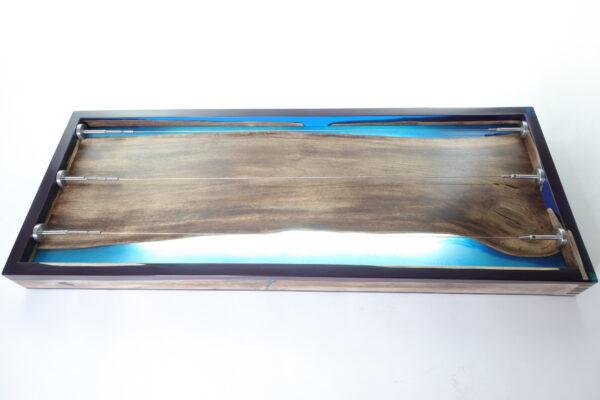 műgyanta lámpa fényképtartó ajándék drótfa réz acél alumínium horgany 105