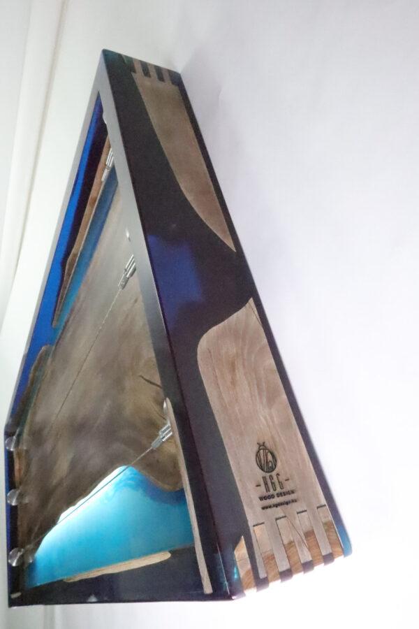 műgyanta lámpa fényképtartó ajándék drótfa réz acél alumínium horgany 105.5.1.