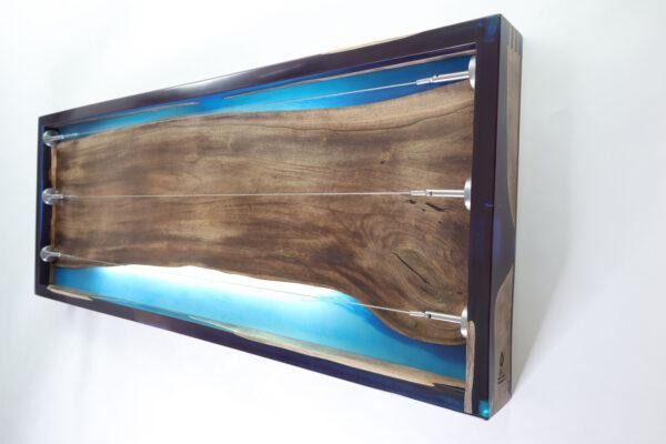 műgyanta lámpa fényképtartó ajándék drótfa réz acél alumínium horgany 105.4