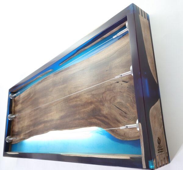 műgyanta lámpa fényképtartó ajándék drótfa réz acél alumínium horgany 105.5