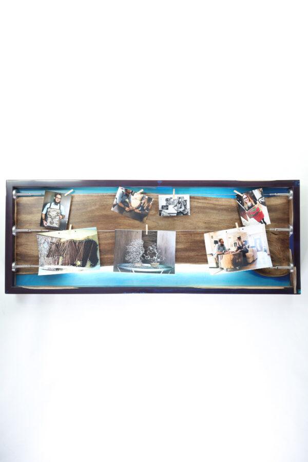 műgyanta lámpa fényképtartó ajándék drótfa réz acél alumínium horgany 105.8