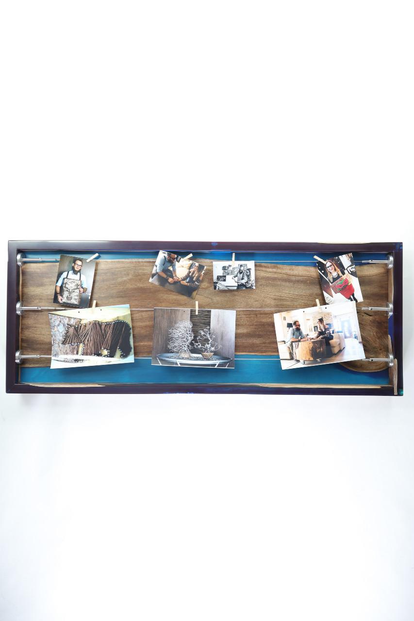 műgyanta lámpa fényképtartó ajándék drótfa réz acél alumínium horgany 105.9