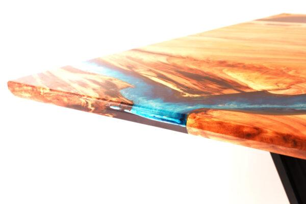 műgyanta led asztal ajándék drótfa réz acél alumínium horgany 116.5