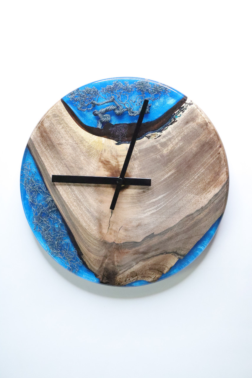 műgyanta óra ajándék drótfa réz acél alumínium horgany-105